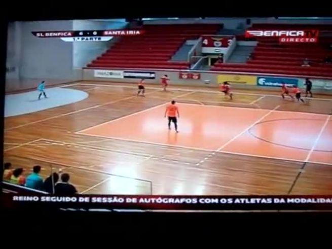 El golazo de Rita Martins en Benfica-Santa Iría.