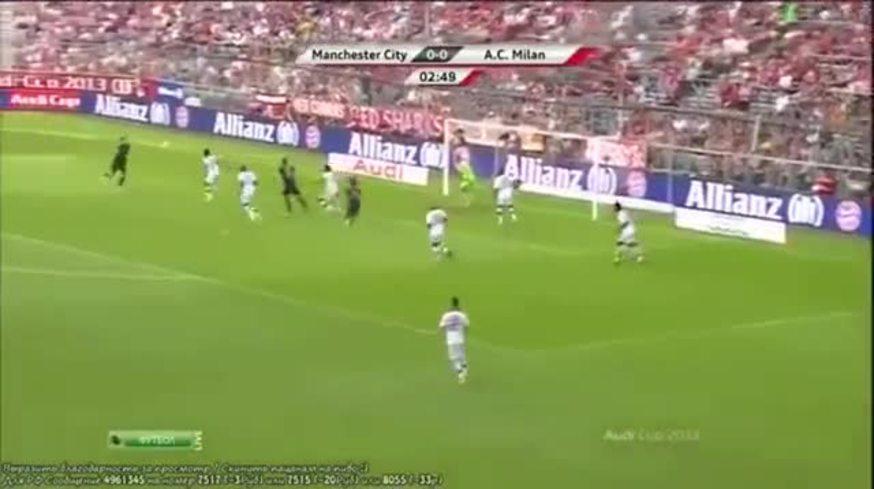 Los goles de M. City 5 - Milan 3
