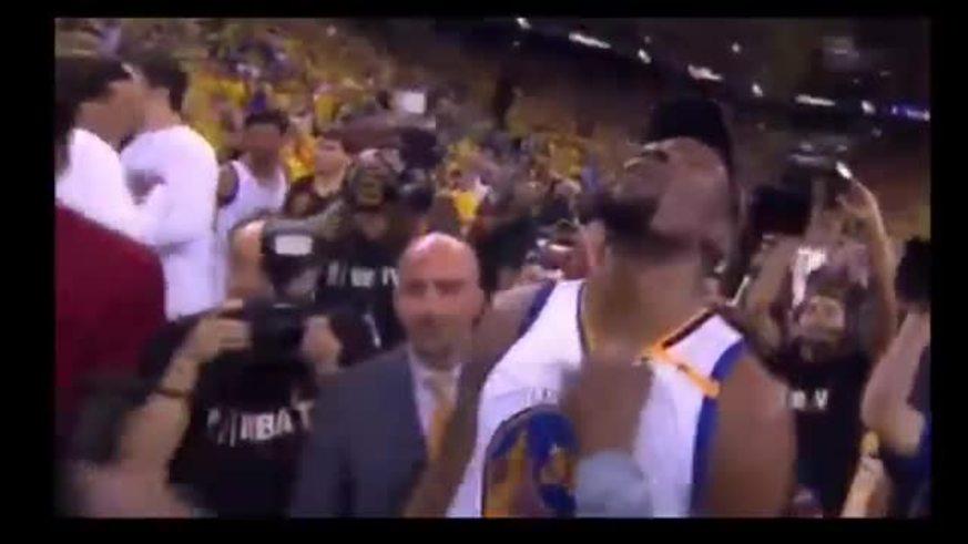 La celeración entre Durant, su madre y Curry