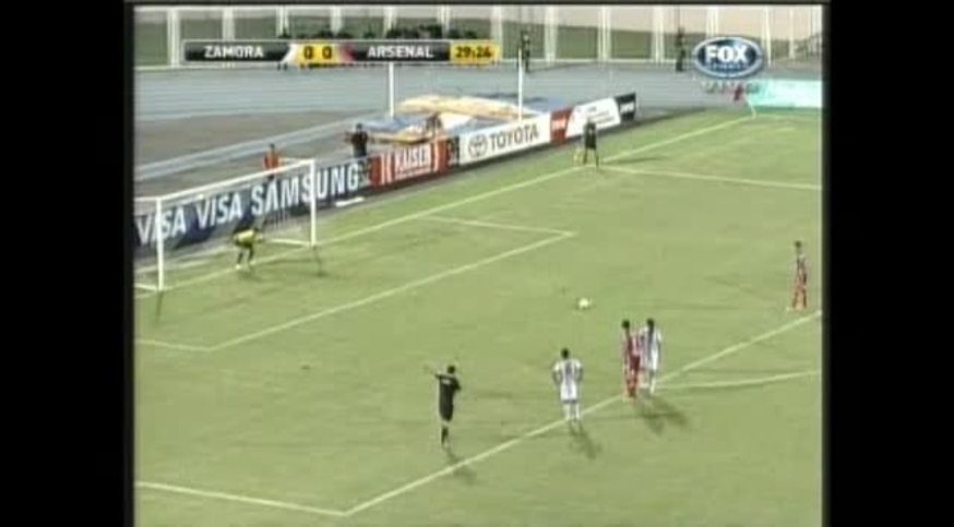 Mirá el gol de Caffa, de penal (You Tube).