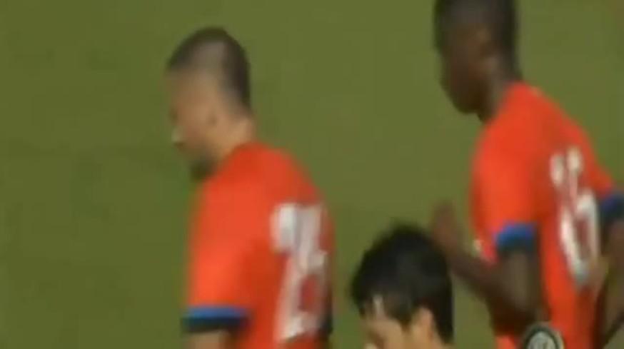 Mirá los goles del Inter en el amistoso de pretemporada.