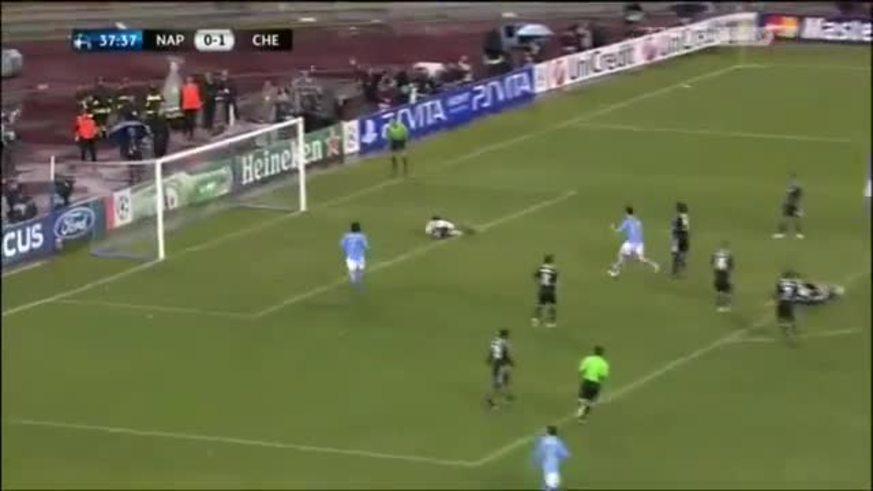Mirá el primer gol de Lavezzi al Chelsea. (youtube)