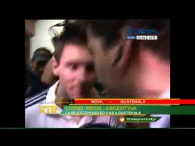 La palabra de Messi desde Guatemala