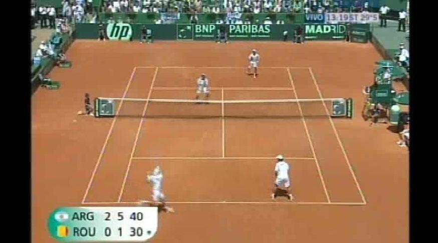 El triunfo del dobles y los festejos del equipo argentino en la Davis.