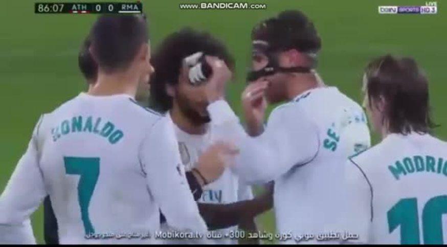 Sergio Ramos, expulsado en el Madrid