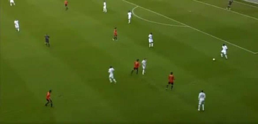 Un casi gol en contra de Onuoha en un partido Sub 21 entre España e Inglaterra. ¿Lo habrá visto Lagerback?