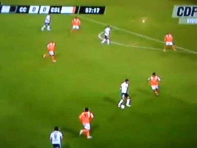 Mirá el gol de Matías Quiroga para Colo Colo. (You Tube)