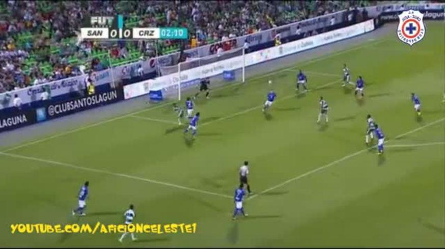 Los goles de Santos Laguna 3 - Cruz Azul 2
