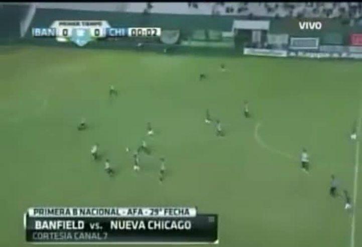 Los goles de Banfield-Chicago