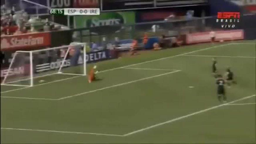 Los goles de España sobre Irlanda