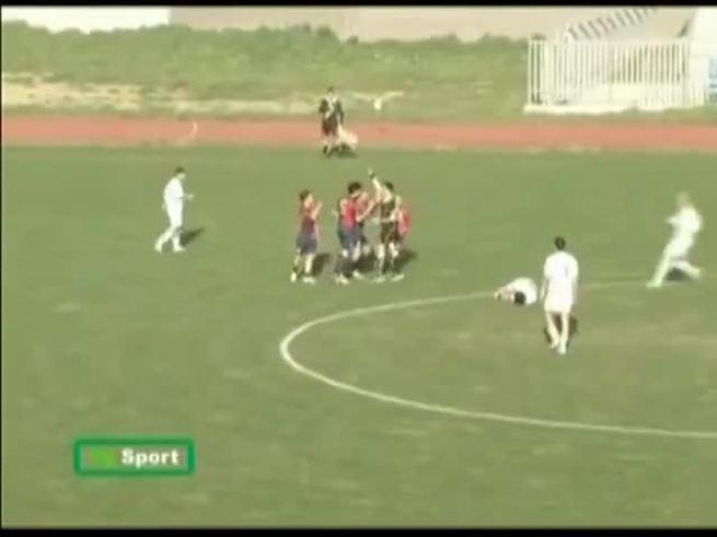 Mirá la muestra de Fair Play en el fútbol italiano.