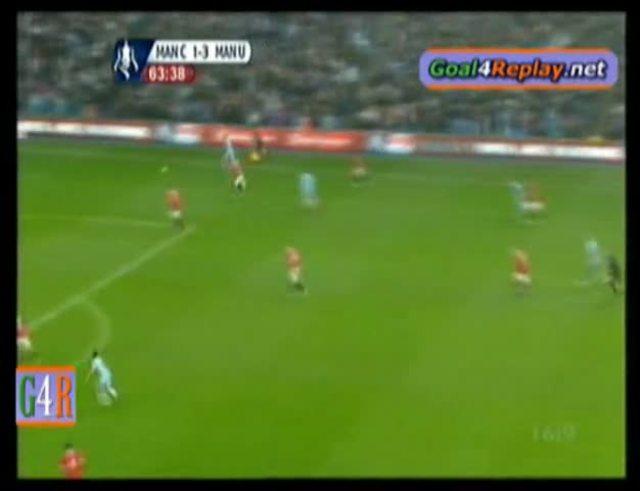 Mirá el gol de Agüero al United.