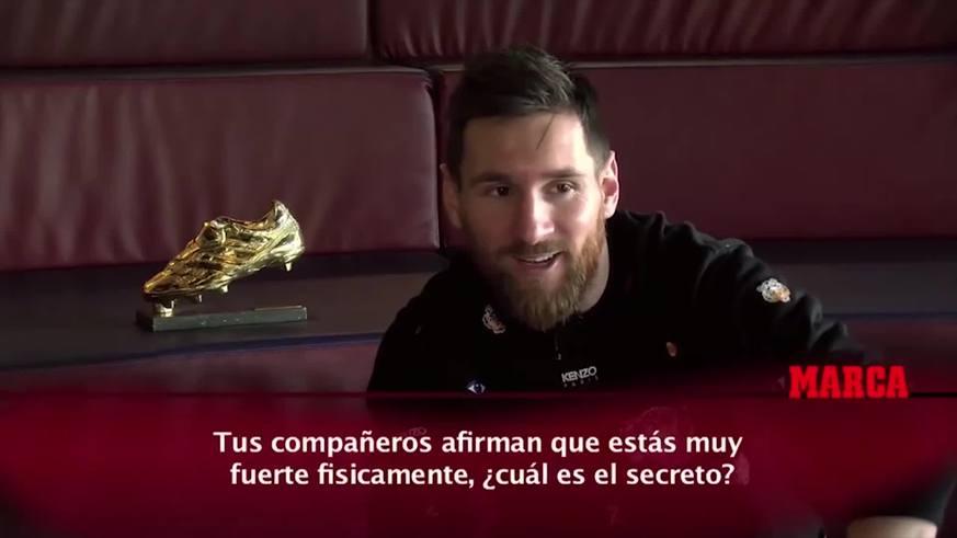 Messi contó varias intimidades de su vida