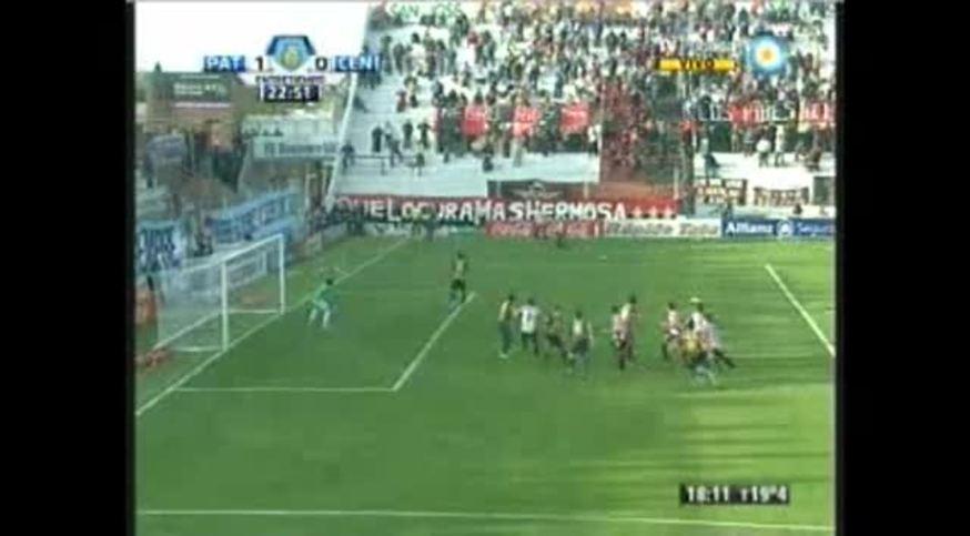 Los goles y los incidentes en Patronato 2-1 Central.