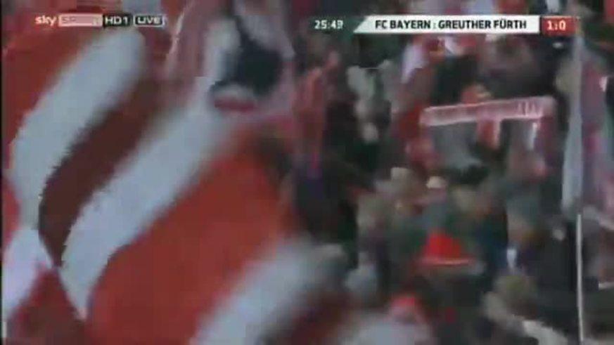 Mirá los goles del Bayern Munich.