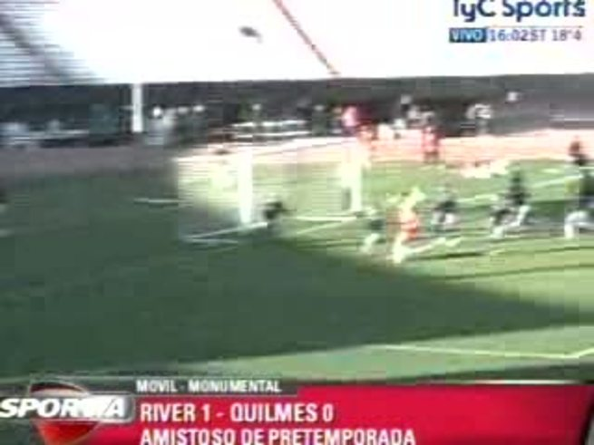 El primero ante Quilmes (TyC Sports)