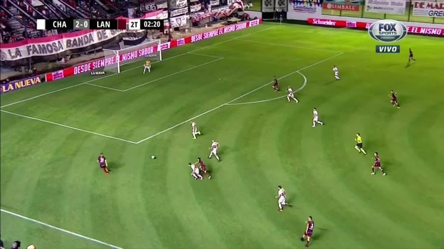 Gol anulado a Lanús