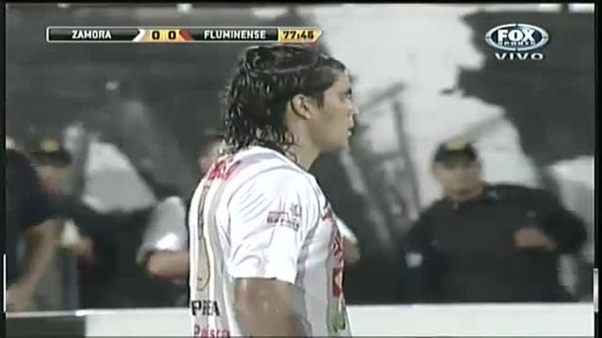Mirá el gol de Rafael Sobis al Zamora en Venezuela.
