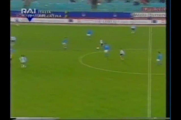 El recuerdo del último Italia-Argentina