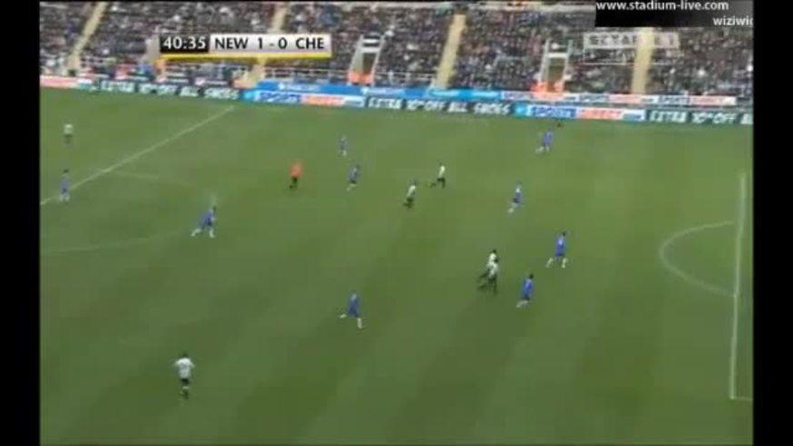 Mirá el gol de Jonás Gutiérrez al Chelsea.
