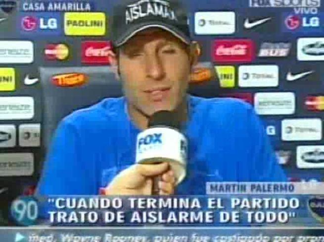 Palermo habló en Fox.