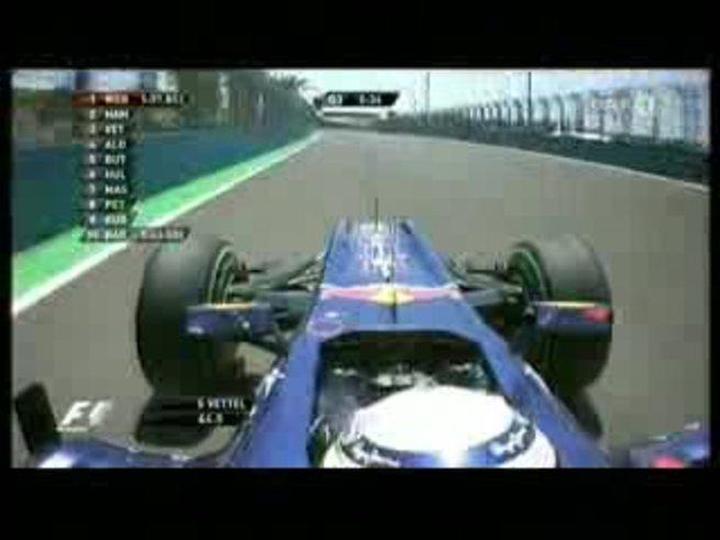 Mirá la pole de Sebastian Vettel en Valencia. (Youtube.com)
