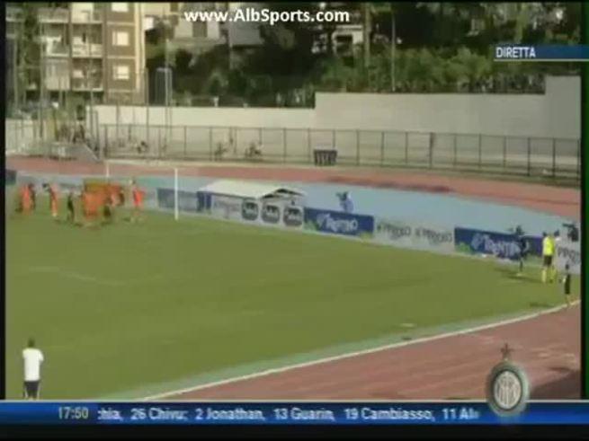 Goles de Palacio y Campagnaro para el Inter