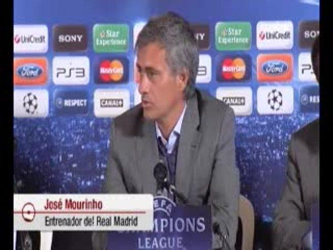 Mirá el enojo de Mourinho con la prensa.