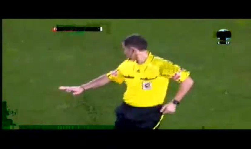 El gol de penal y la dedicatoria de Messi a su mamá. (Youtube)