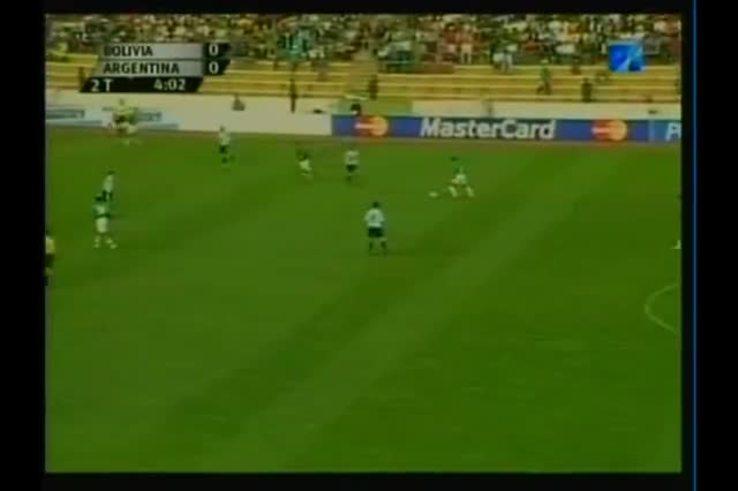 El último triunfo de Argentina ante Bolivia, 2-1 en La Paz.