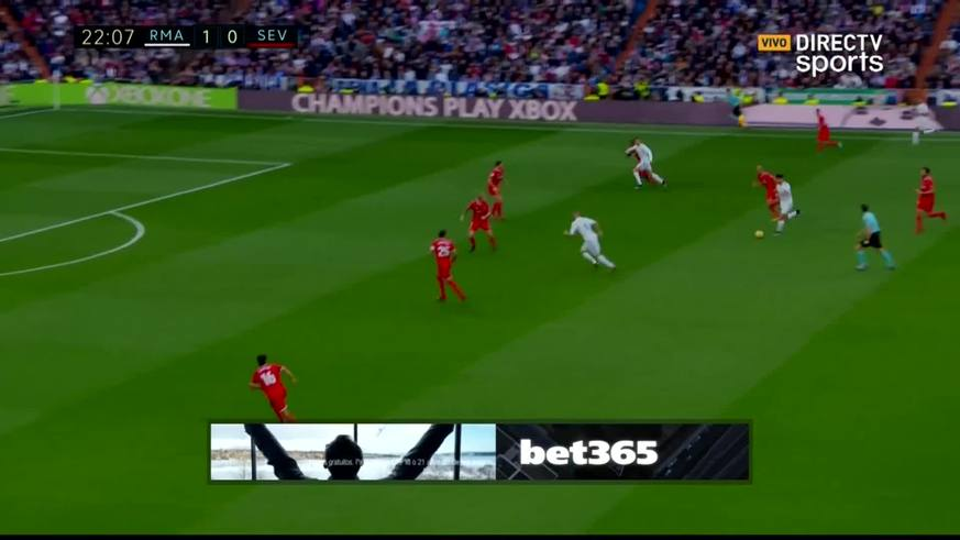 Ronaldo puso el 2 a 0 para el Merengue