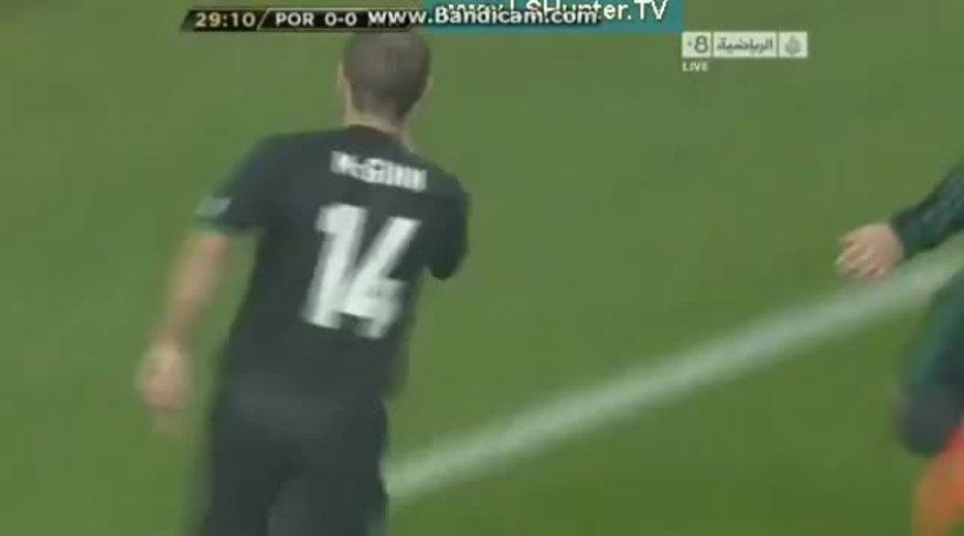 McGinn amargó a los portugueses.