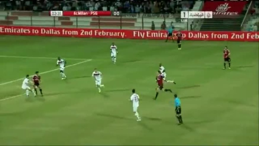 Mirá el gol de taco de Pato frente al PSG.