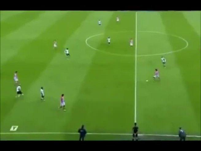 Mirá el gol de Racing Santander 0 - A. Bilbao 1.