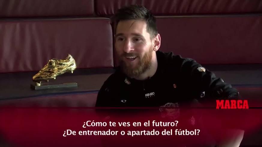 ¿Qué va a ser Messi después de jugador?