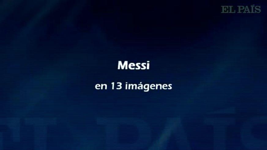 Messi habló de todo un poco, hasta de Thiago.