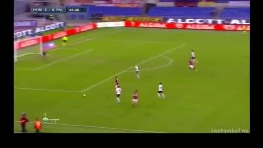 Mirá el gol de Lamela para la Roma.