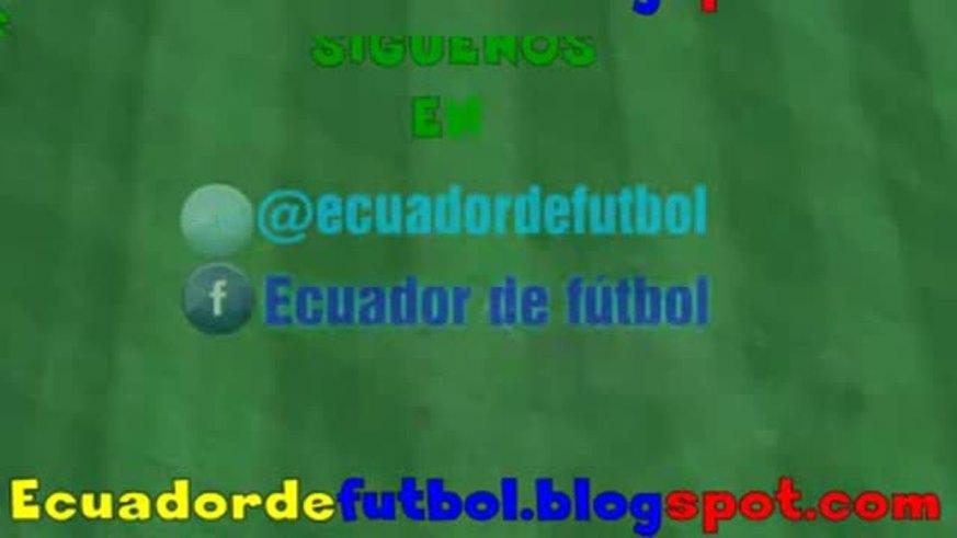 Mirá los dos goles de Lucho Figueroa para Emelec.