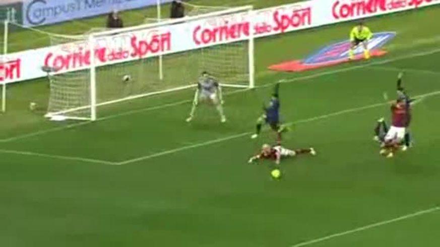 Mirá los goles de Roma 1 - Inter 1 (Palacio).