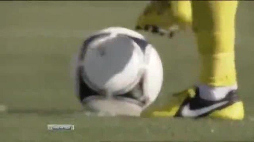 Mirá el gol en contra de Insaurralde.