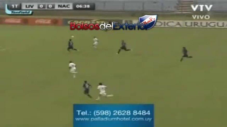 Mirá la victoria de Nacional de Uruguay.