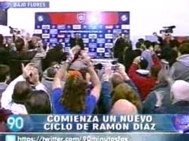 Mirá la presentación de Ramón Díaz. (Fox Sports)