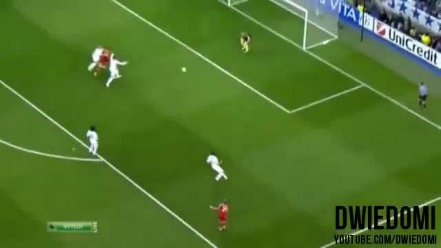 Robben marca el descuento para el Bayern.