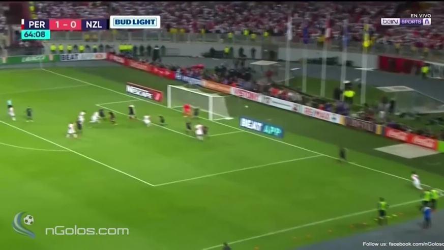 Ramos marcó el segundo de Perú