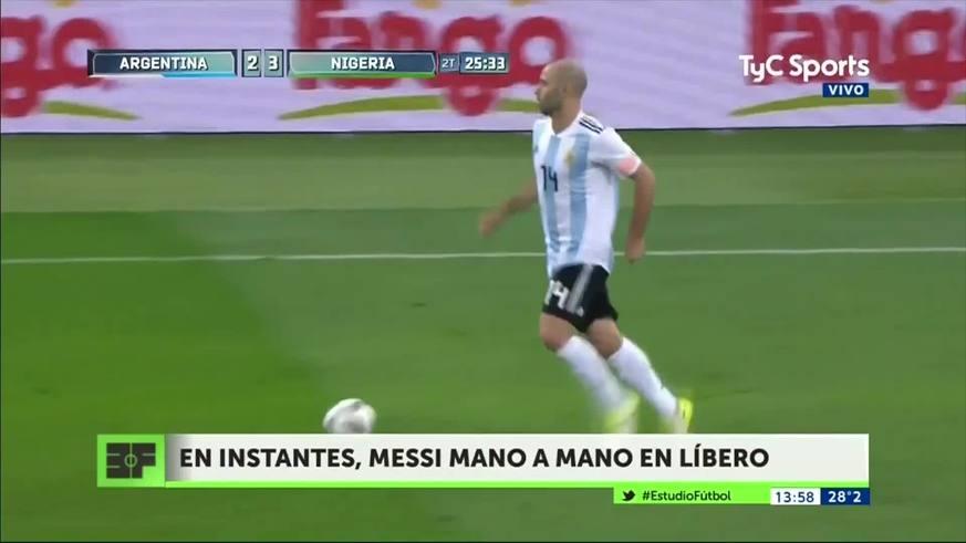 Messi se refirió a la situación de Masche
