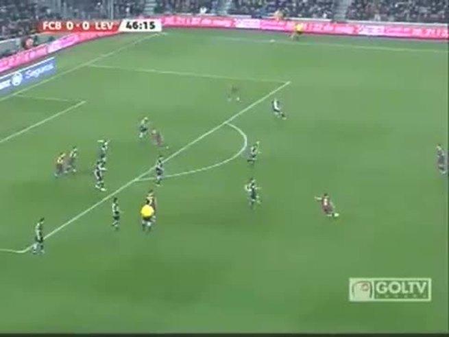 Los goles del triunfo del Barcelona. (Youtube.com)