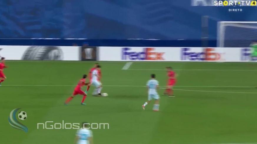 Golazo de Paredes para el 3 a 1 del Zenit