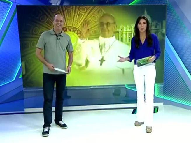 El informe de la TV brasileña sobre Francisco y San Lorenzo