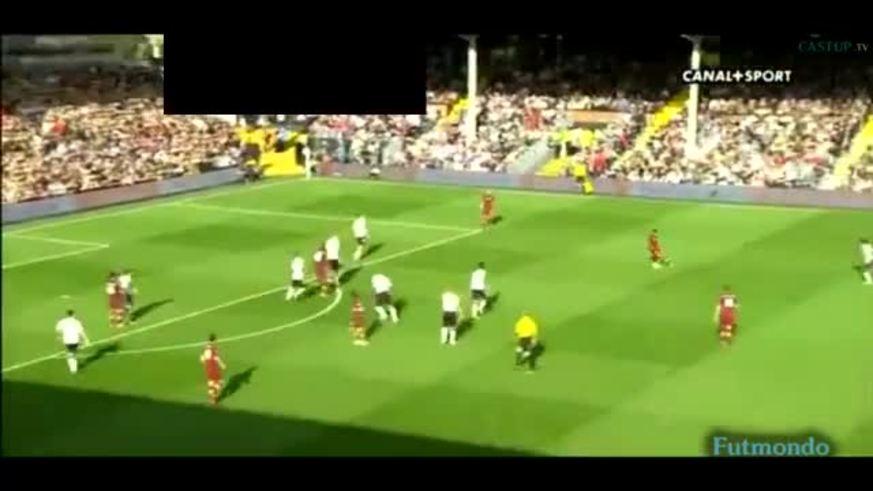 Mirá el gol del Kun Agüero al Fulham.