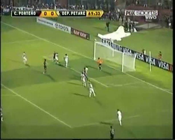 Mira el gol de Roberto Nanni.